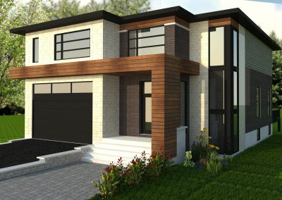 Projet neuf à vendre – 1730 rue robert, Brossard
